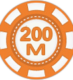 chip 200m